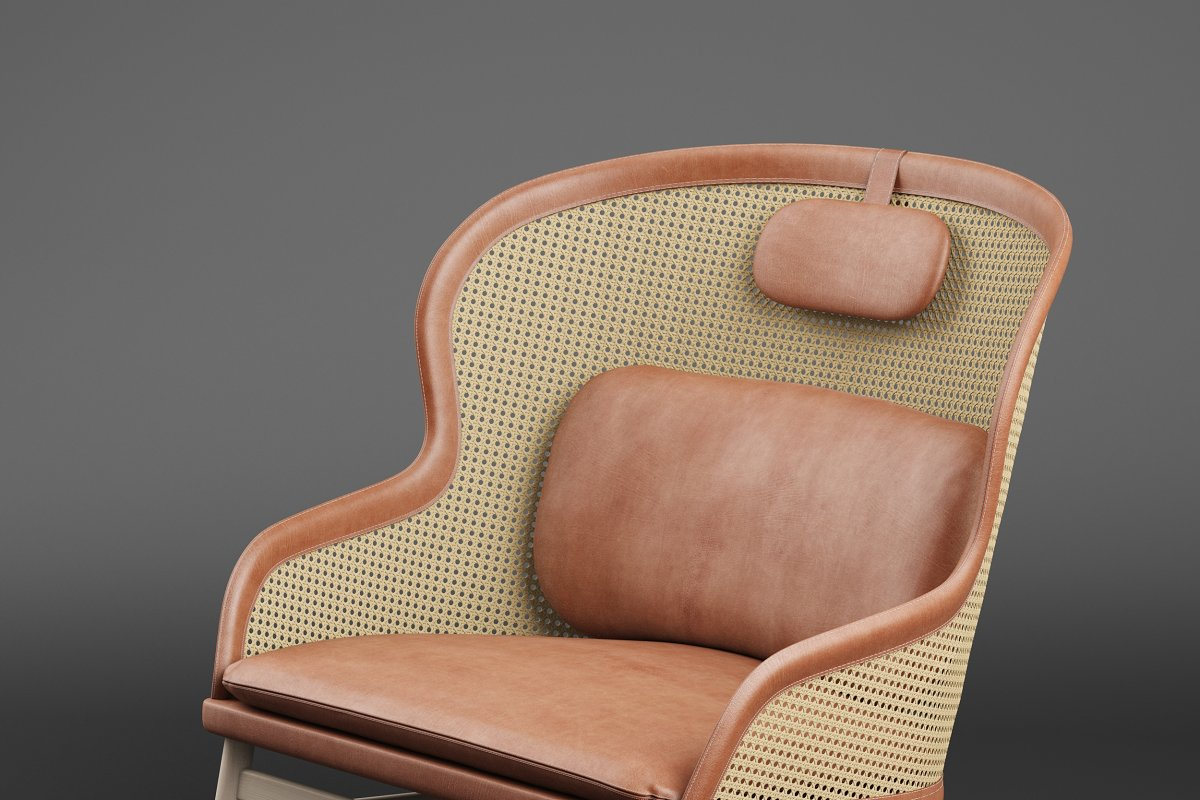 Dandy armchair in Furniture - product preview 1