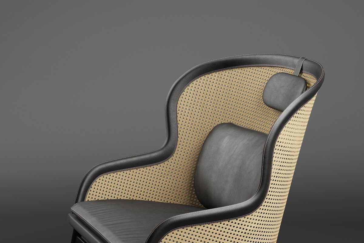 Dandy armchair in Furniture - product preview 2