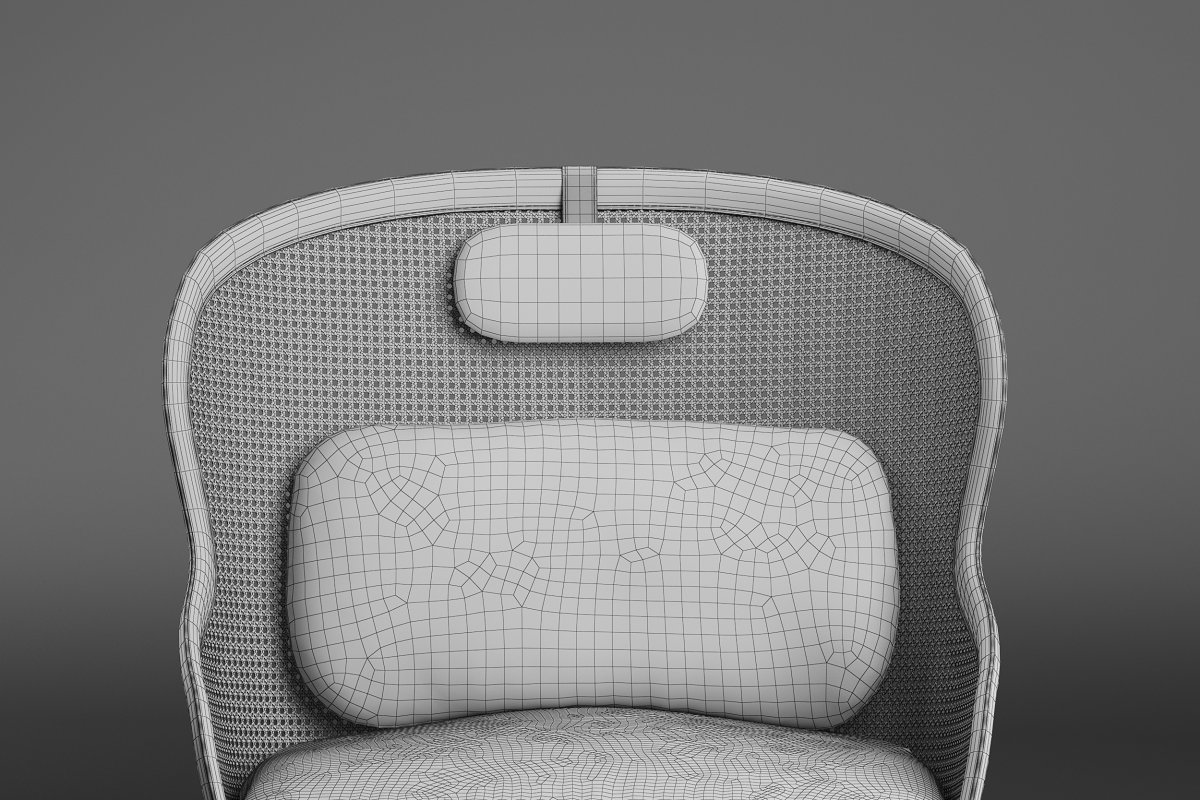 Dandy armchair in Furniture - product preview 5