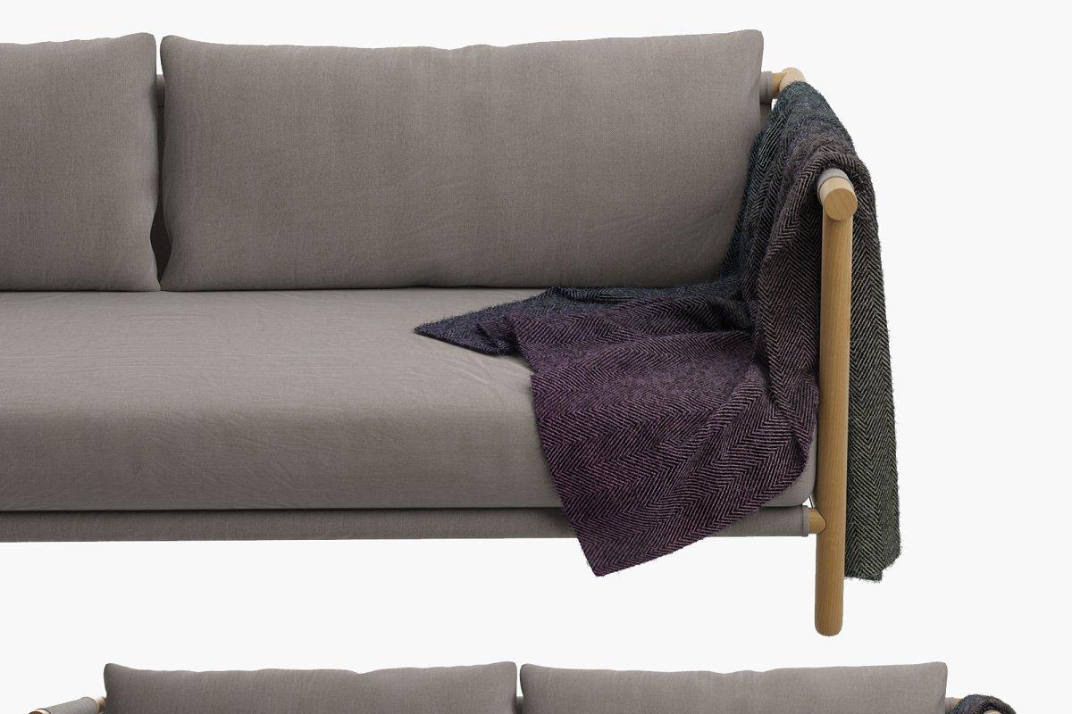 LAX Series Trestles Sofa