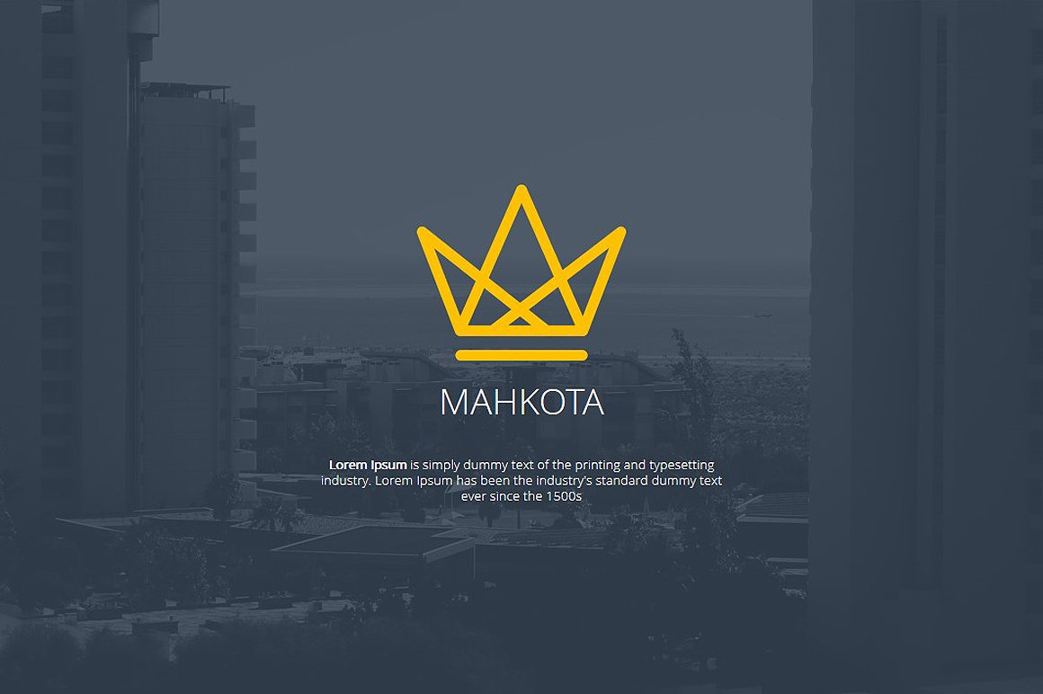Powerpoint templates and keynote themes that look great in 2016 mahkota powerpoint template toneelgroepblik Gallery