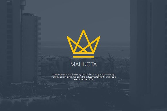 Mahkota powerpoint template presentation templates creative market mahkota powerpoint template presentations toneelgroepblik Gallery