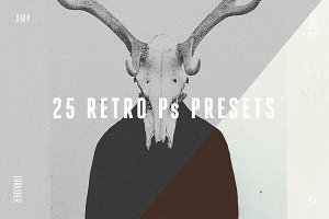 25 Retro Photoshop Presets