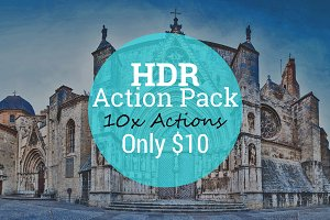 Photoshop HDR Action Pack