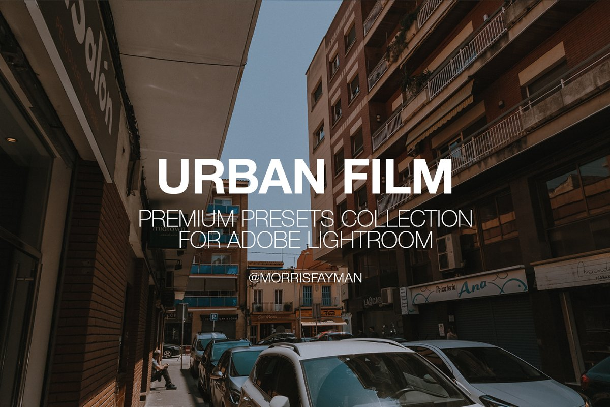 URBAN FILM presets for Lightroom