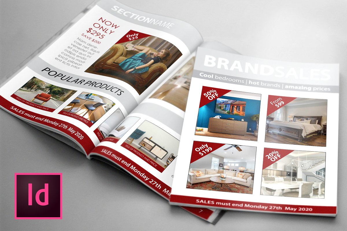 SALES Magazines/Brochure Template