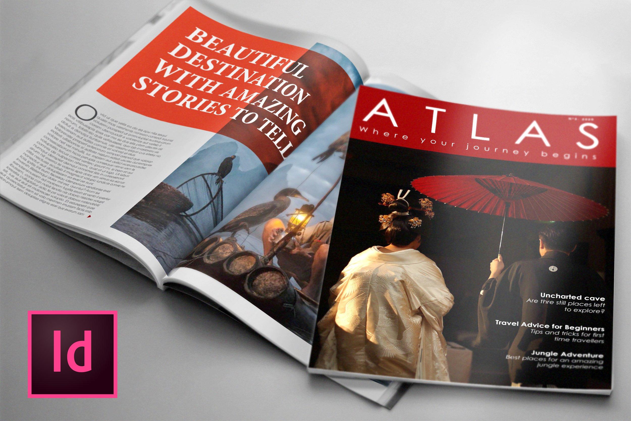 80 Page Lifestyle Magazine Template ~ Magazine Templates