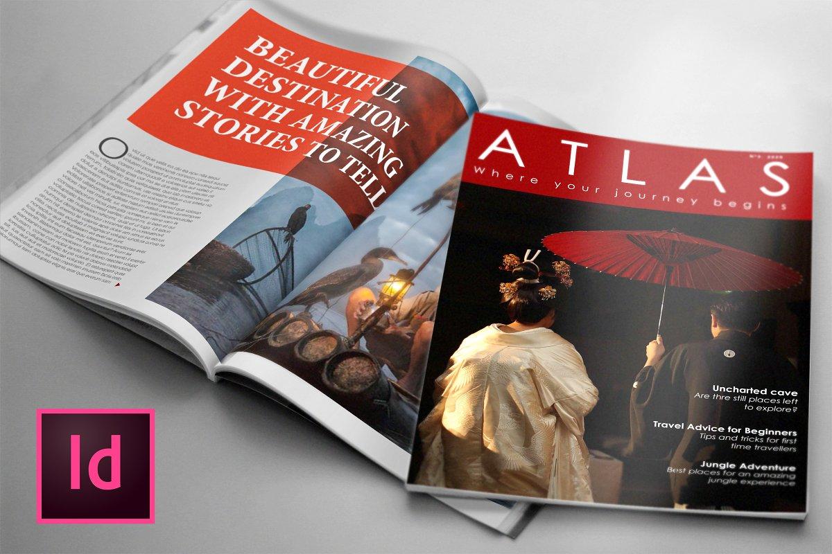 ATLAS, Lifestyle Magazine Template
