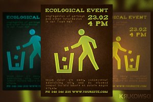 Ecological Event Flyer