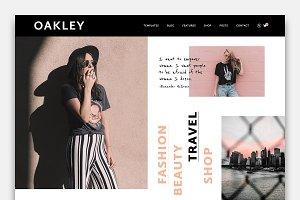Oakley - A Blog & Shop Theme