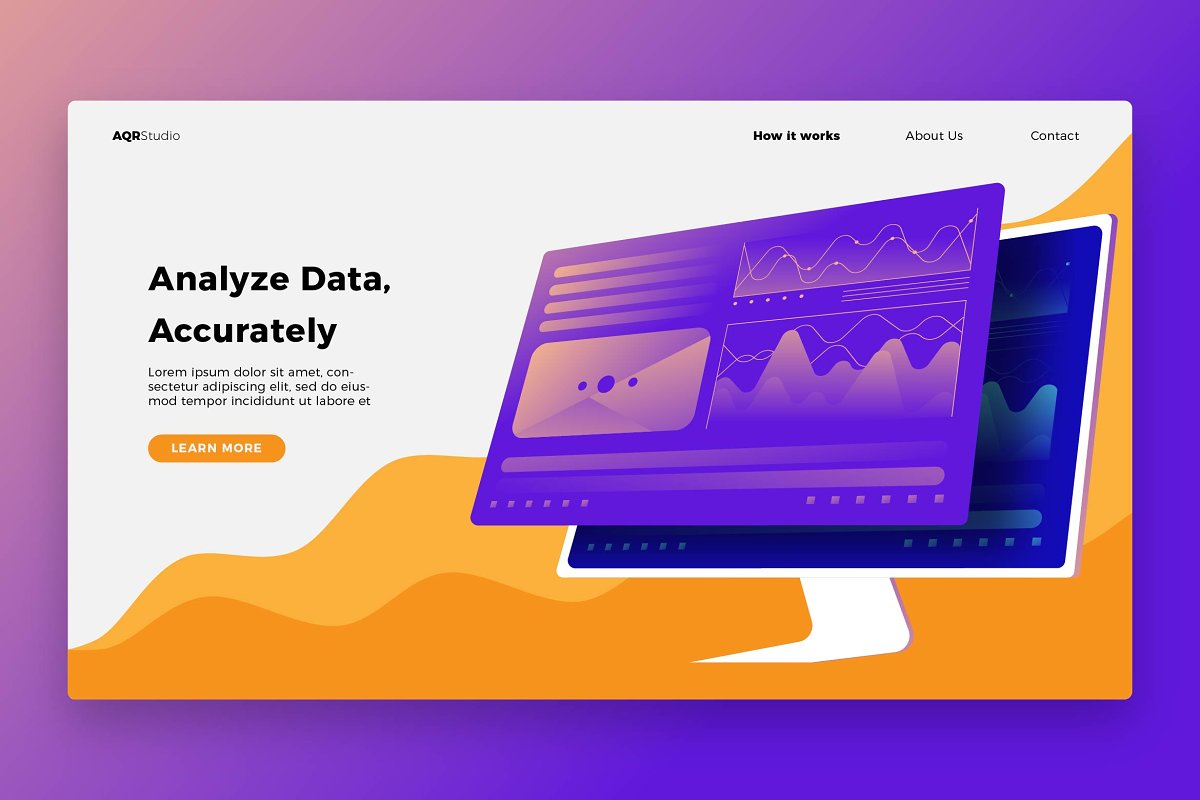 Data Analyze - Banner & Landing Page