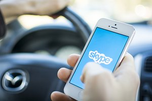 skype on smartphone