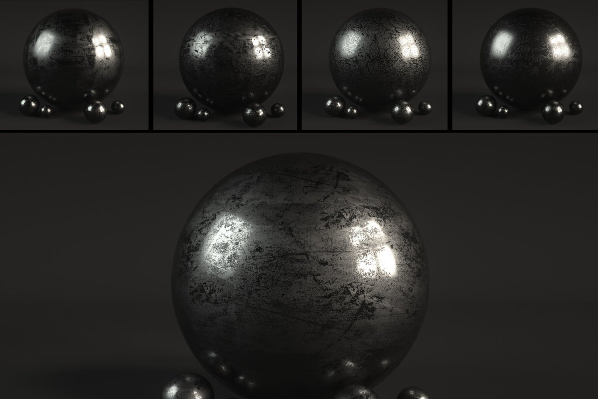 14 Roughness Material Shaders for C4