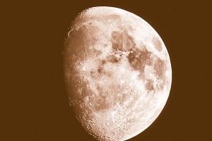 Vintage moon