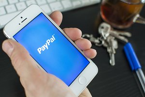 paypal on smartphone