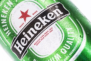 Heineken can of beer