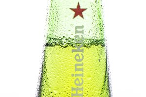 heineken cold bottle