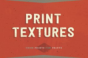 Print Textures: from print for print