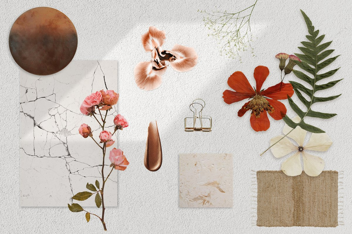 Realistic Mood Board Mockups in Branding Mockups - product preview 5