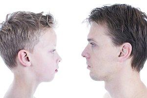 Father son comparison