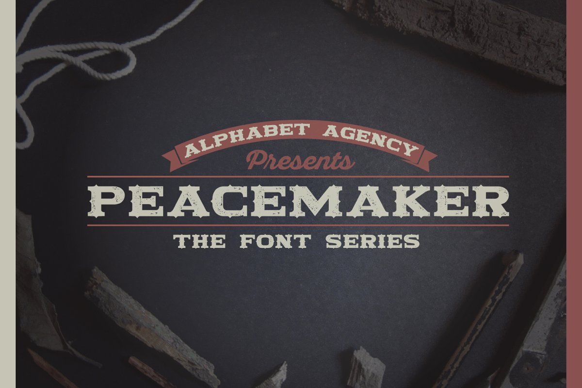 PEACEMAKER FONT SERIES
