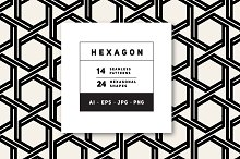 Hexagonal Shapes & Patterns by  in Patterns