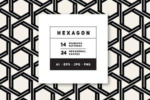 Hexagon Photos, Graphics, Fonts, Themes, Templates ~ Creative Market