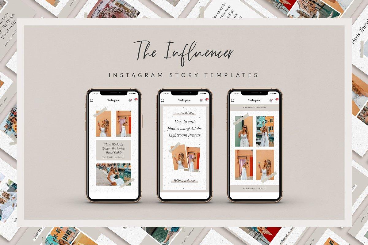 The Influencer - Instagram Stories