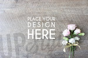 Floral Stock Photo Mock Up A131