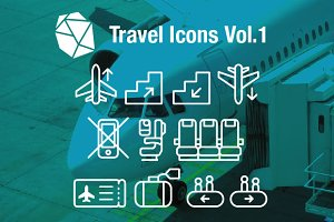 Travel Icons Vol.1