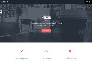 Plixis - Multipurpose Theme