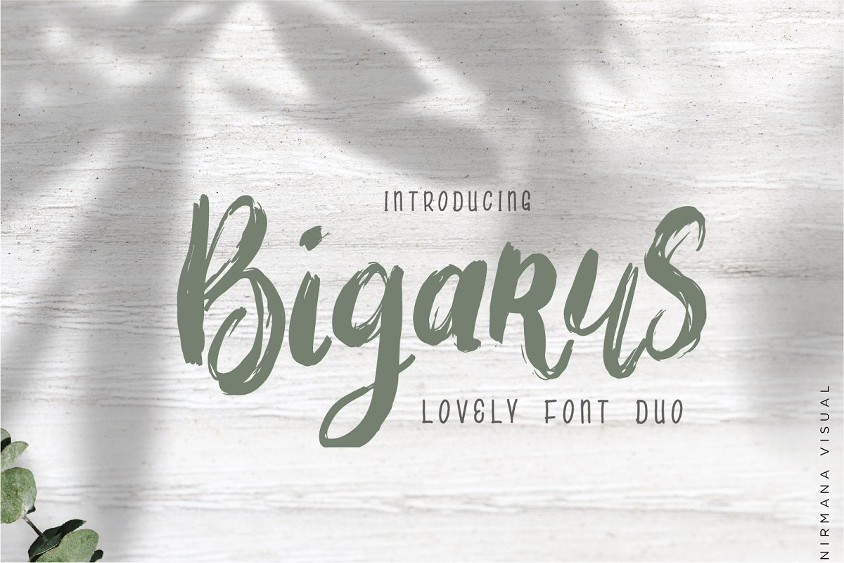Bigarus Font Duo