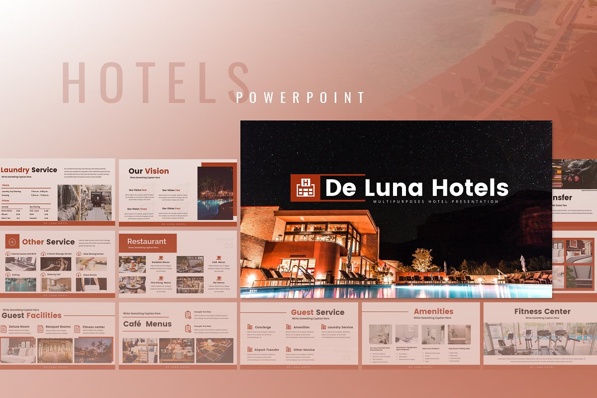 De Luna - Hotels Powerpoint