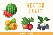 19 Vector Berries