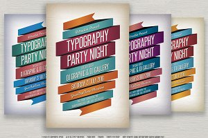 Typography Flyer