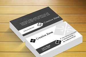 Creative Zone 111 Business Card