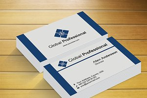 Global Professional Business Card