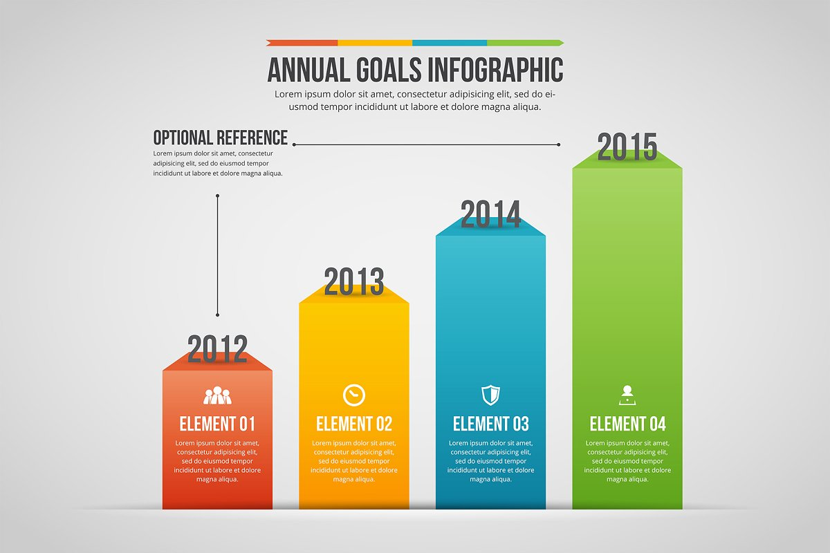 Annual Goals Infographic