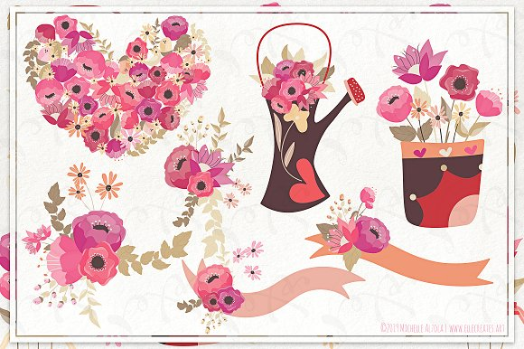 Springtime 03 - Graphics Pack in Illustrations - product preview 2