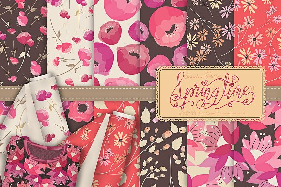 Springtime 03 - Graphics Pack in Illustrations - product preview 6