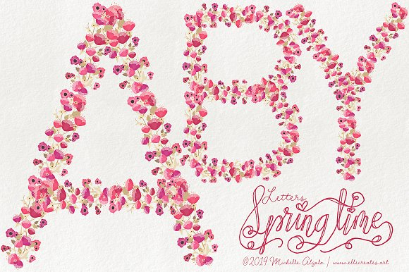 Springtime 03 - Graphics Pack in Illustrations - product preview 13
