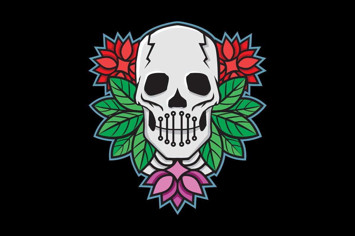 Mummy Flower Logo Logo Templates Creative Market
