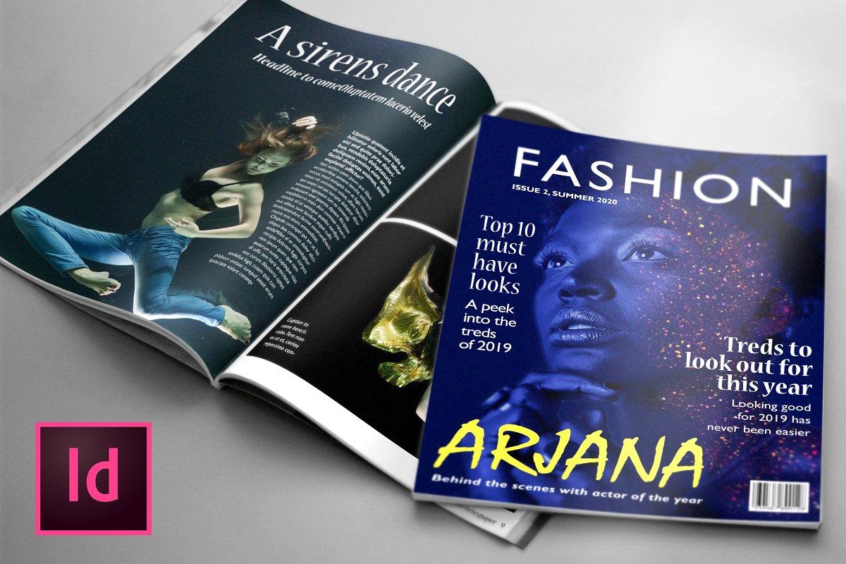 FASHION, 24 Page Magazine Template
