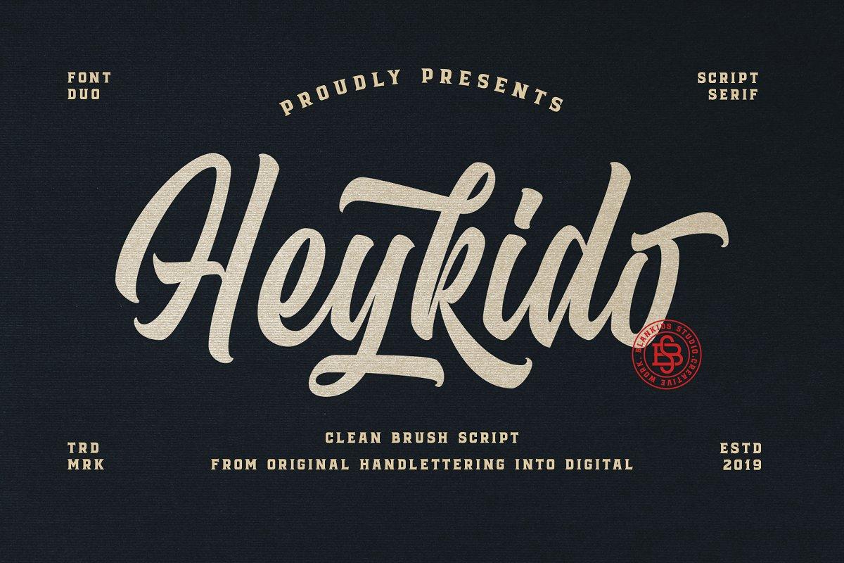 Heykido Script & Serif