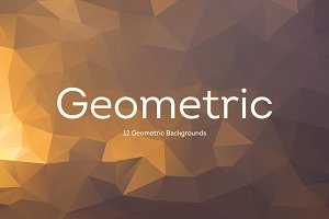 12 Geometric Backgrounds v1