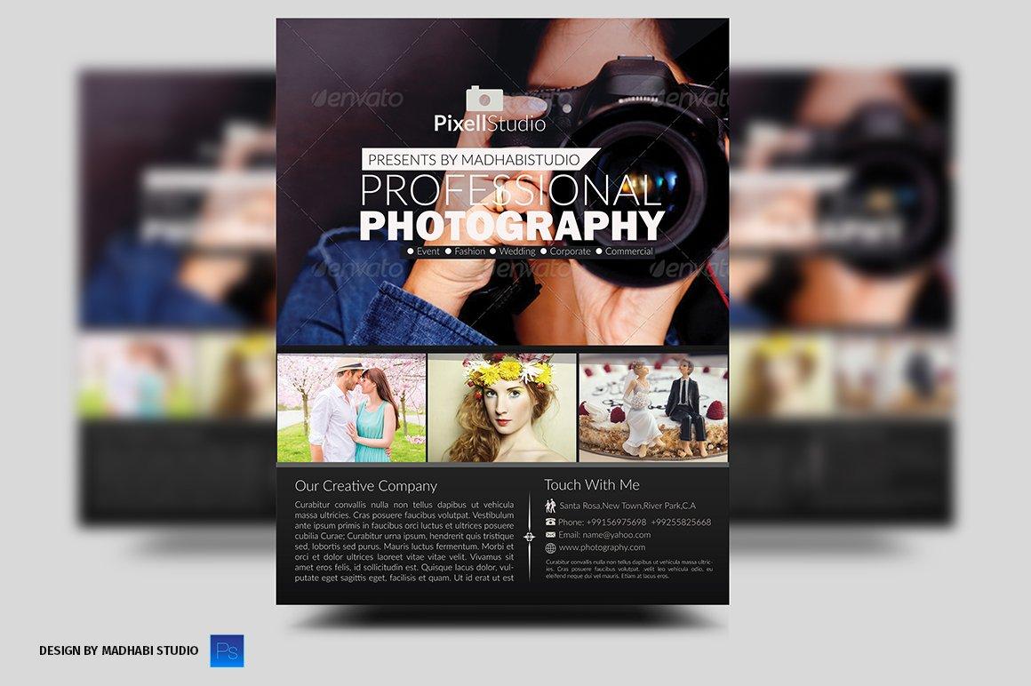 photography flyer flyer templates creative market