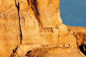 Sandstone Rock in Provence, France