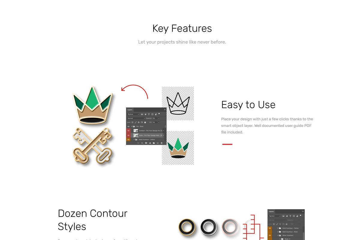 Logo Pin Enamel Mockup in Templates - product preview 2