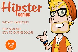Hipster Series Mascot