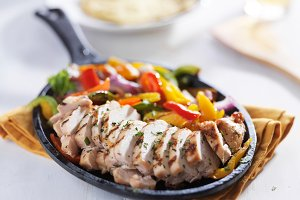 mexican chicken fajita skillet meal